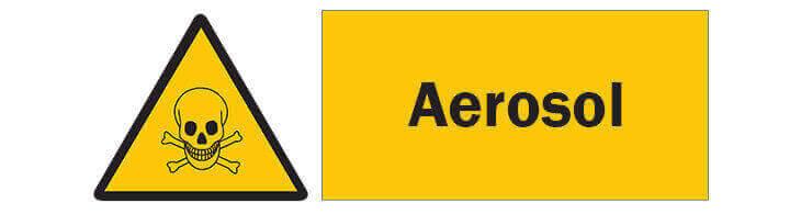 Warnzeichen für Gift und Hausmittel